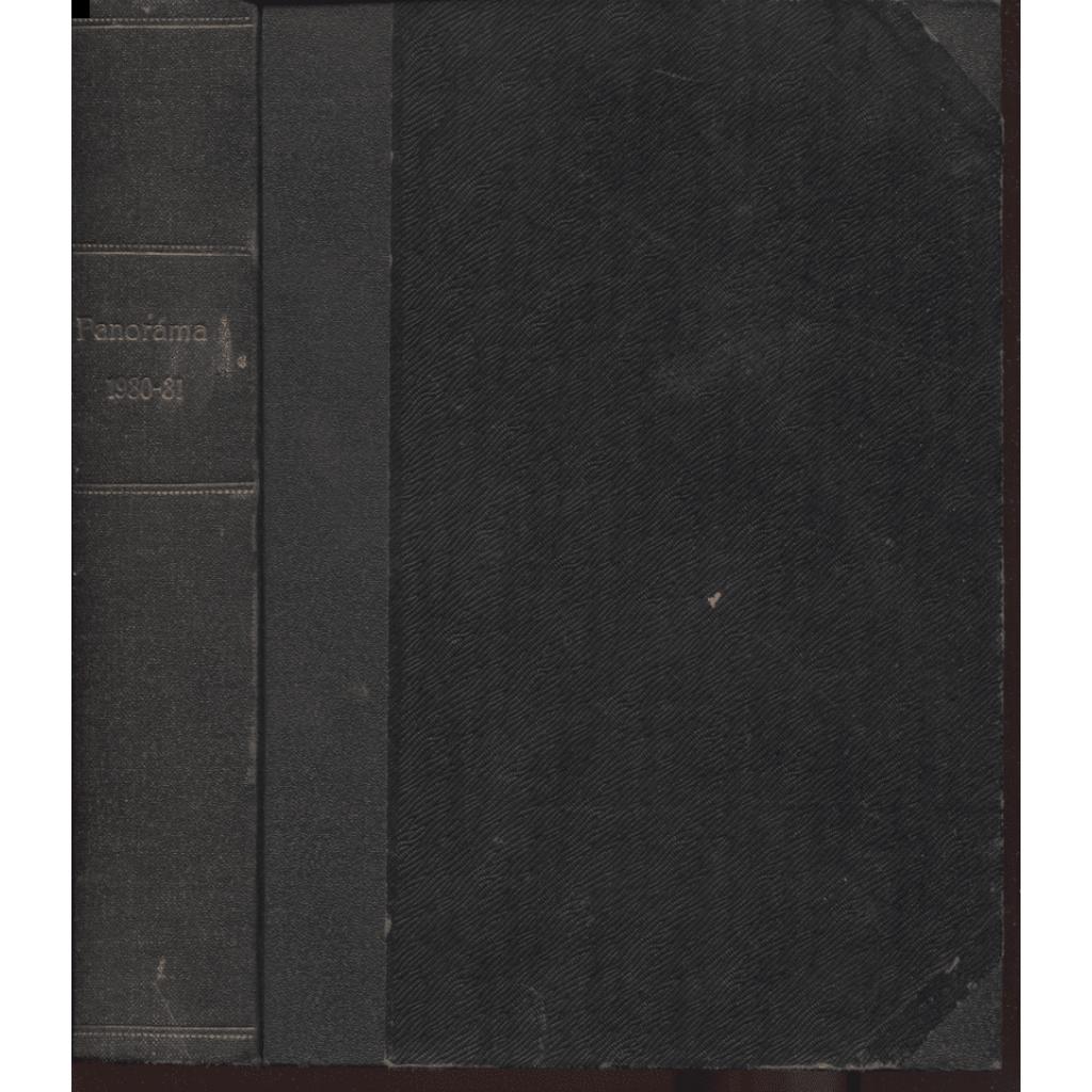 Panorama. Kulturní zpravodaj. Roč. VIII., čísla 1.-3., 5.-10., 12 1930. Roč. IX., čísla 1.-2., 4.-12.1932