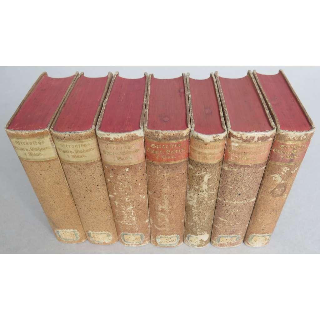 Paul Stransky's Staat von Böhmen. Uebersetzt, berichtigt, und ergänzt von Ignaz Cornova. Bände 1-7 [7 sv.]