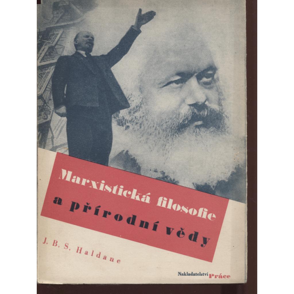 Marxistická filosofie a přírodní vědy (obálka Karel Teige)