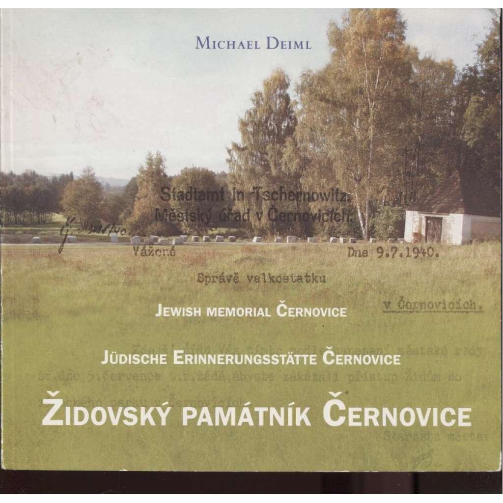 Židovský památník Černovice / Jüdische Erinnerungsstätte Černovice / Jewish Memorial Černovice
