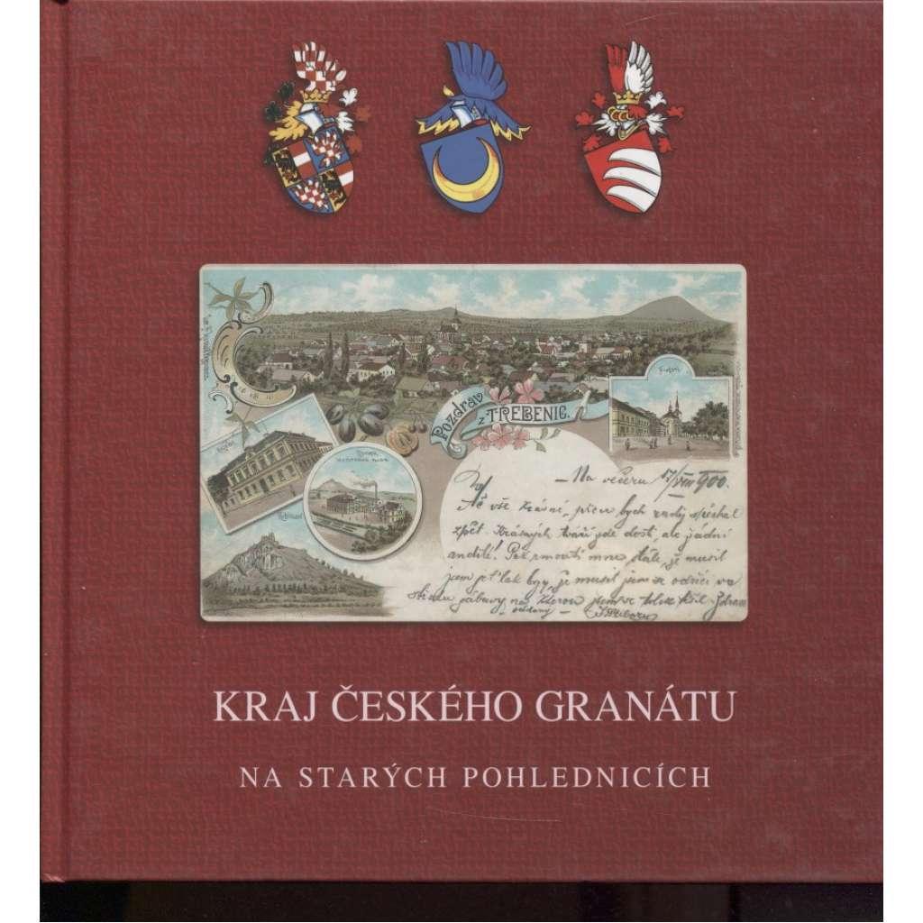 Kraj českého granátu na starých pohlednicích