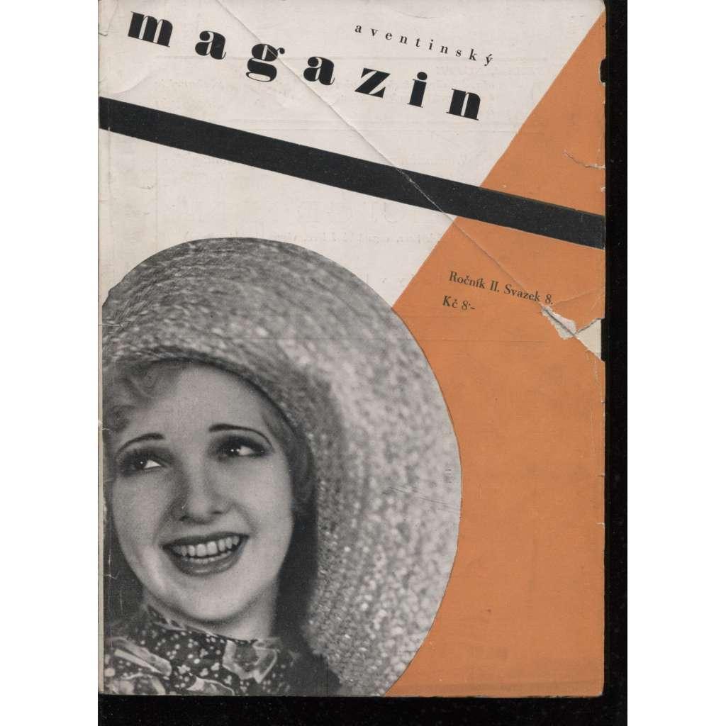 Aventinský Magazin, roč. II., sv. 8/1932