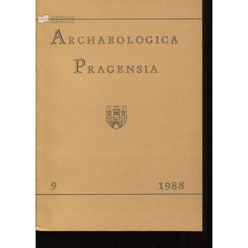 Archaeologica Pragensia 9/1988