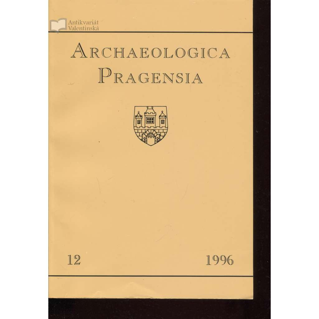 Archaeologica Pragensia 12/1996