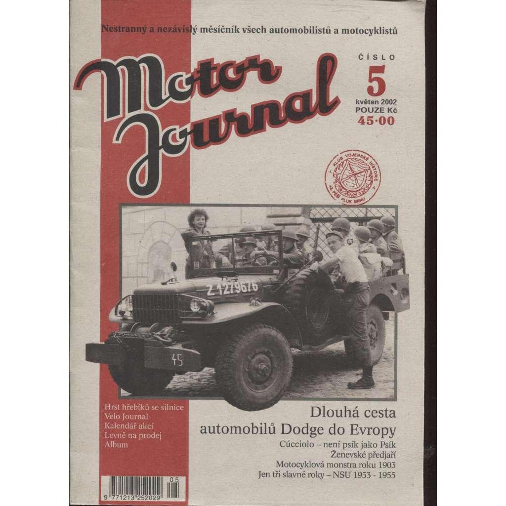 Motor Journal, č. 5/2002 květen