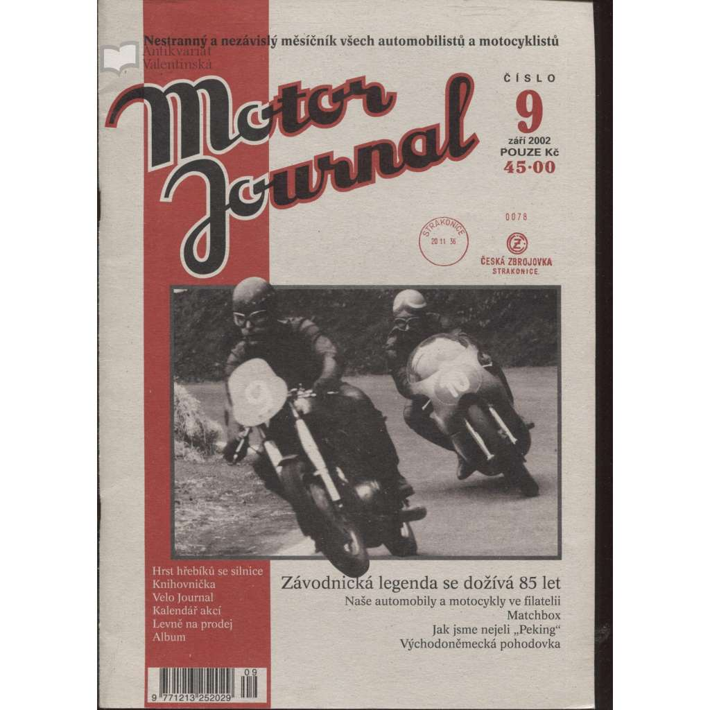 Motor Journal, č. 9/2002 září