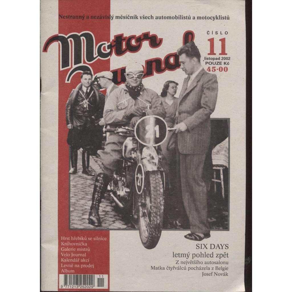 Motor Journal, č. 11/2002 listopad