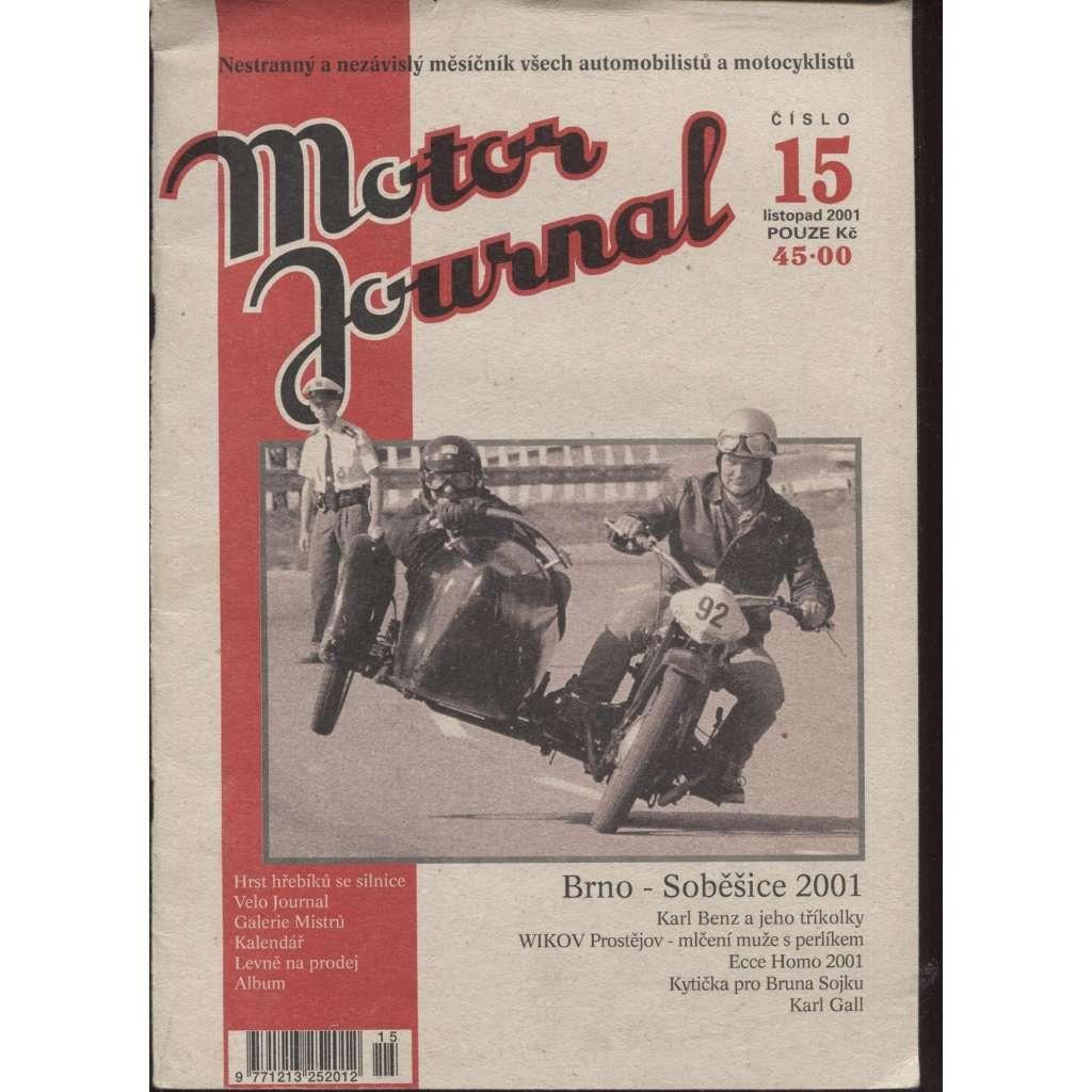 Motor Journal, č. 15/2001 listopad