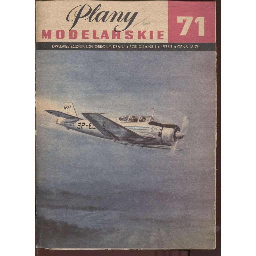 Plany modelarskie, ročník XIII., číslo 71/1976 (Modelářské plány)