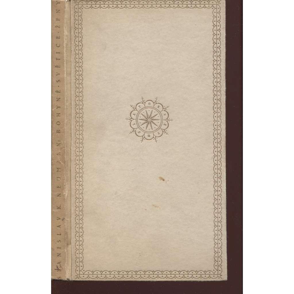 Bohyně, světice, ženy (litografie Josef Čapek)