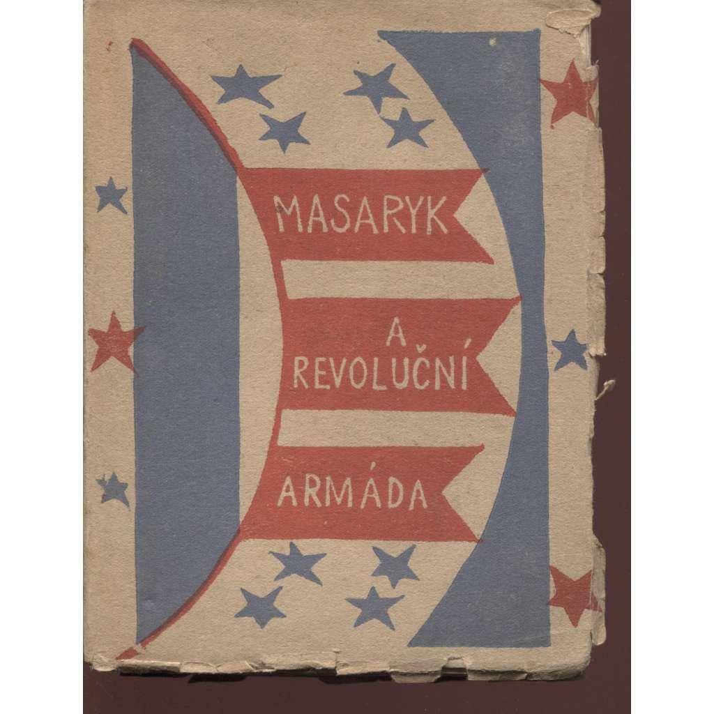 Masaryk a revoluční armáda (obálka Josef Čapek)