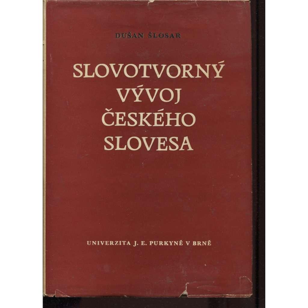 Slovotvorný vývoj českého slovesa