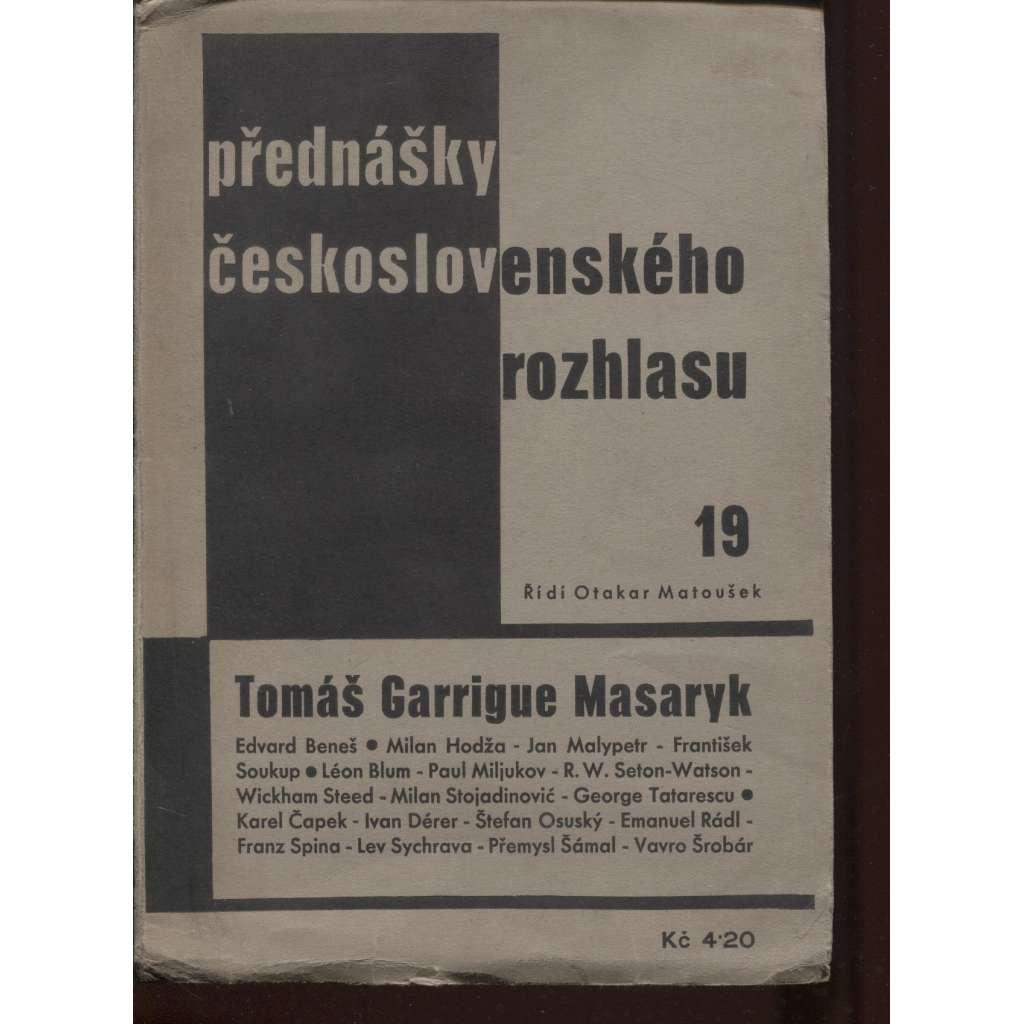 Přednášky Československého rozhlasu 19.