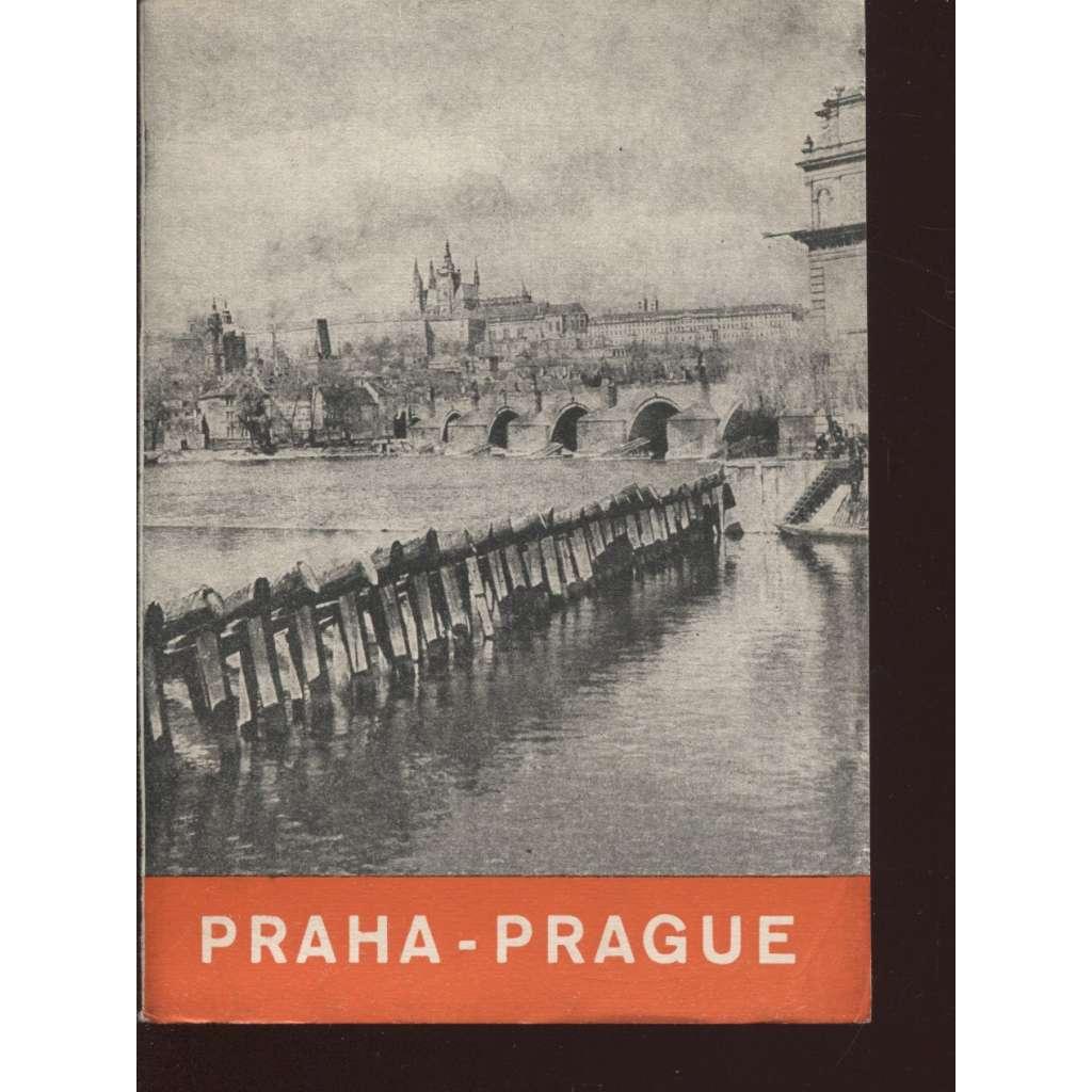 Praha - Prague (rozkládací mapa)