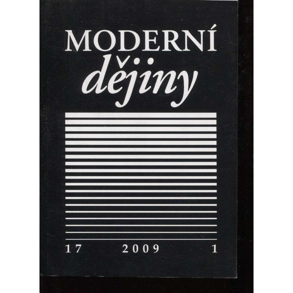 Moderní dějiny 17, 1/2009