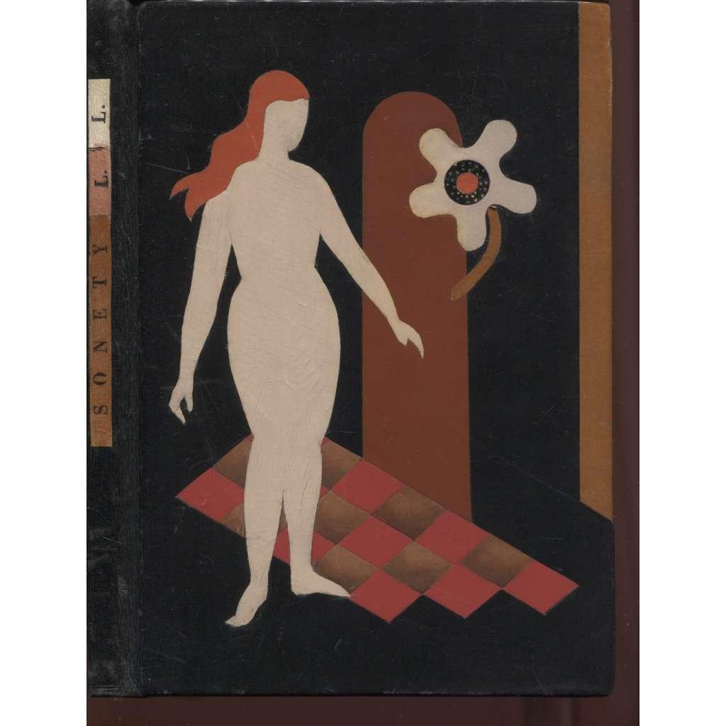 Sonety krásné provaznice Louïzy Labé (vazba kůže, celokožená)