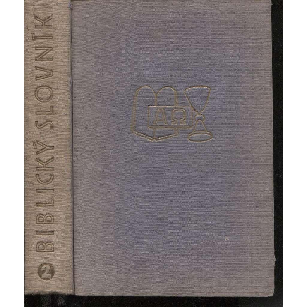 Biblický slovník 2. (Ř-Ž) HOL