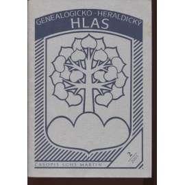 Genealogicko-heraldický Hlas 2/2001, číslo 2. (text slovensky)