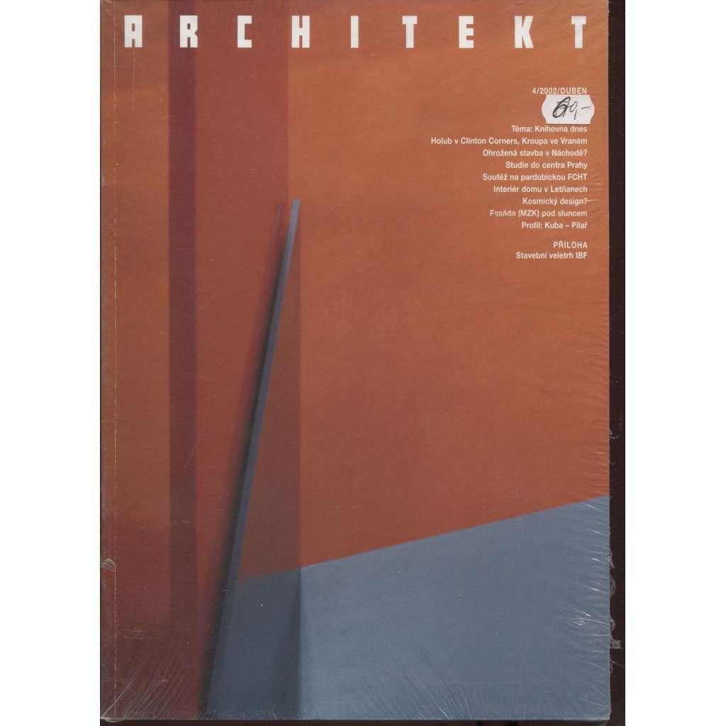 Architekt 4/2002 (časopis)