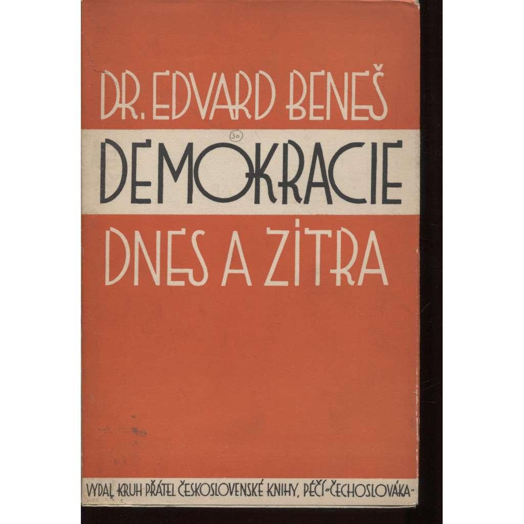 Demokracie dnes a zítra I. a II. (exil, Čechoslovák, Londýn, 2 svazky)
