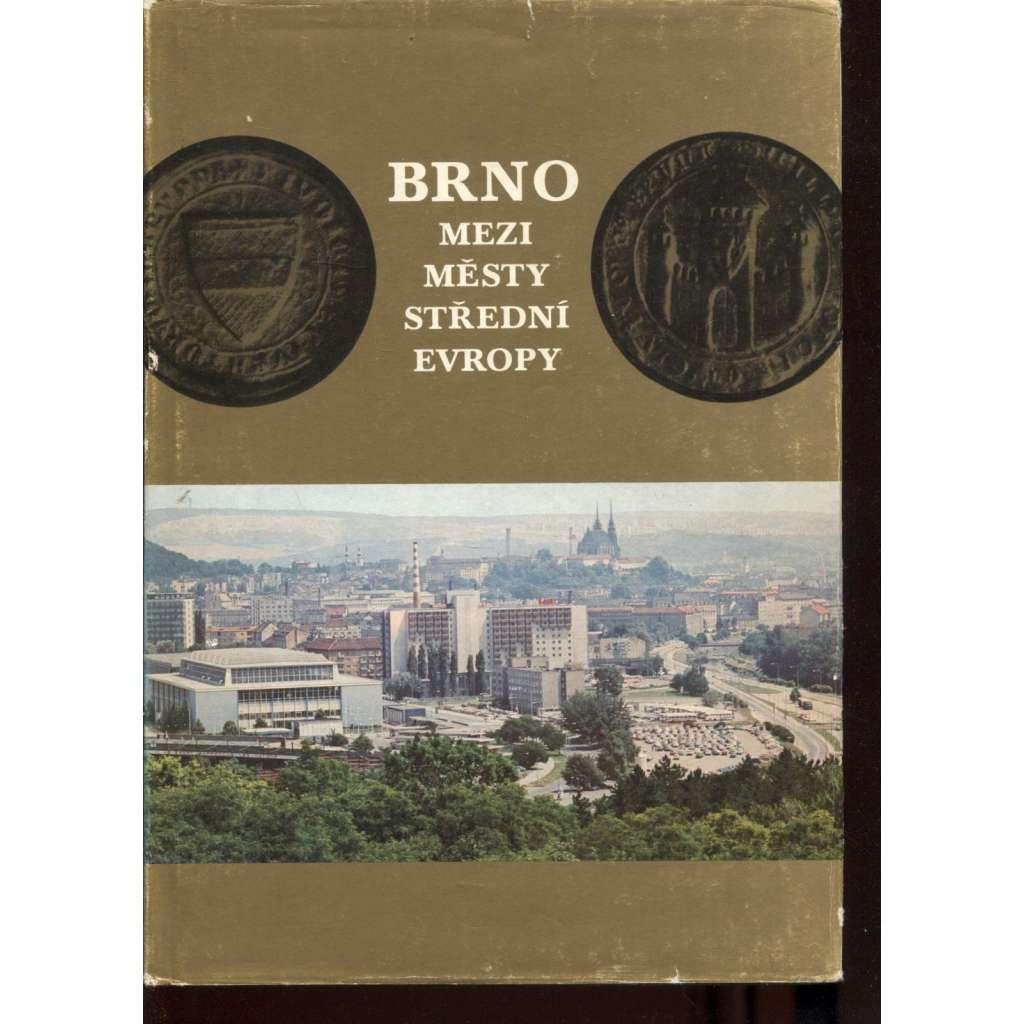 Brno mezi městy střední Evropy