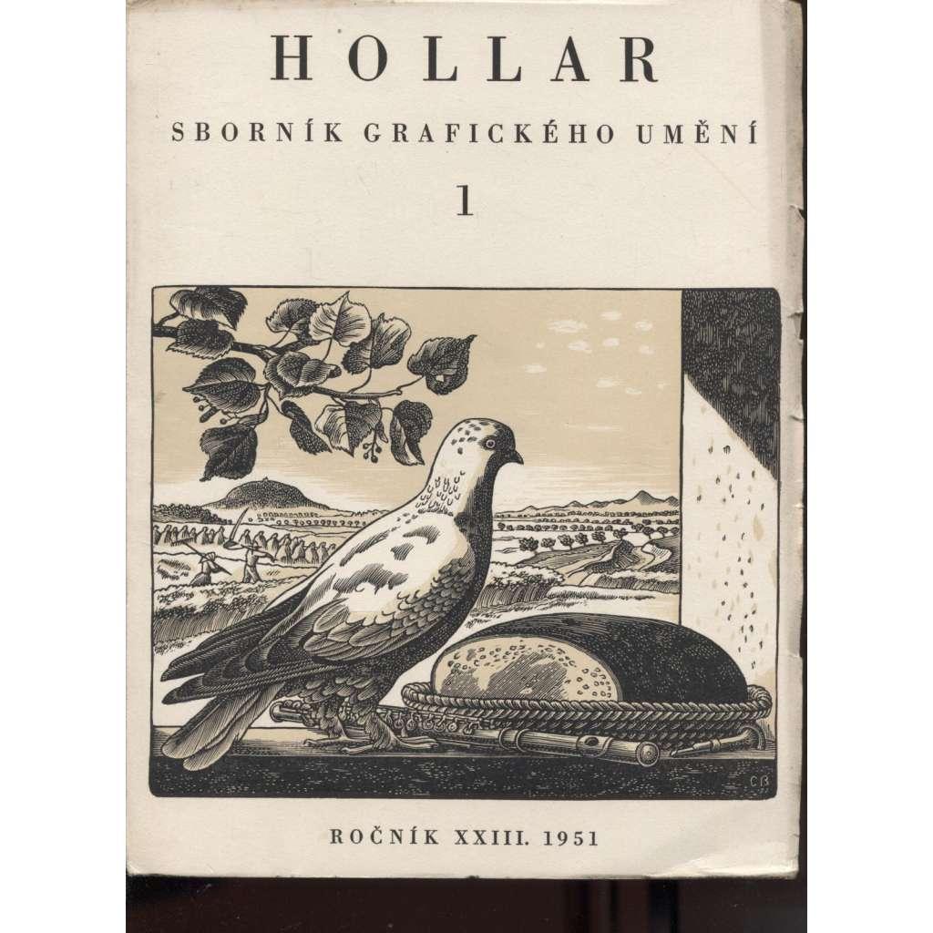 HOLLAR - Sborník grafického umění - Ročník XXIII./1951 (přílohy)