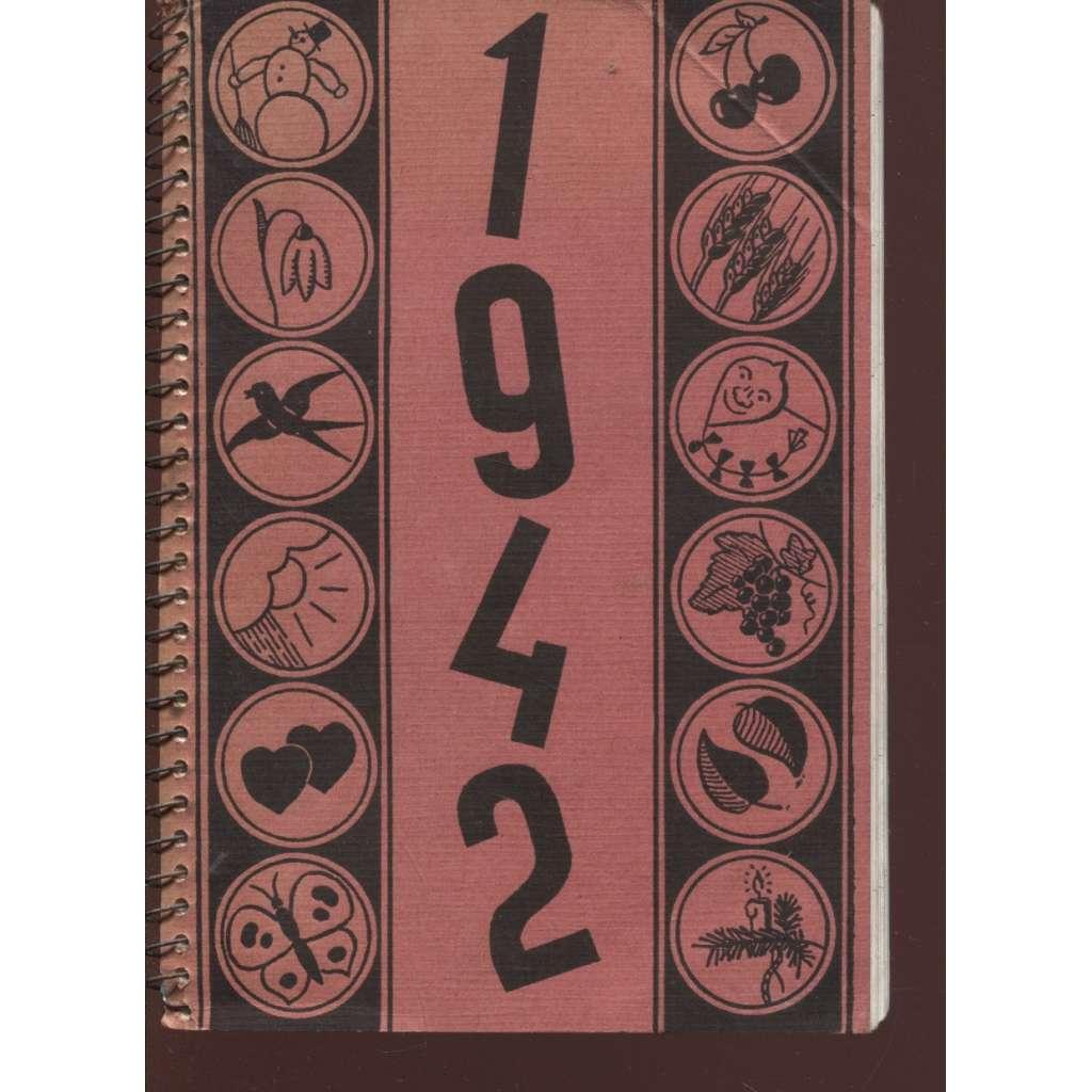 Kalendář 1942