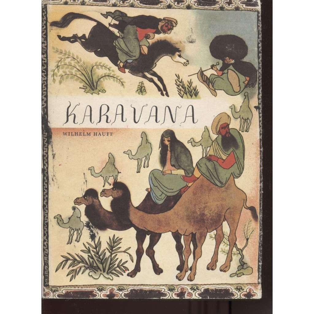 Karavana (ilustroval Jiří Trnka)