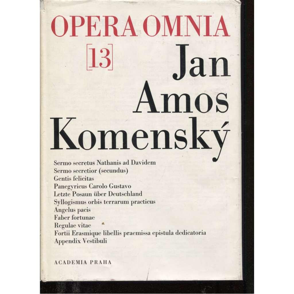 Opera Omnia 13. Jan Amos Komenský