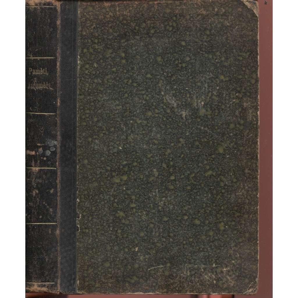 Paměti Královského věnného města Jaroměře nad Labem (Jaroměř nad Labem, vazba kůže, 1887)