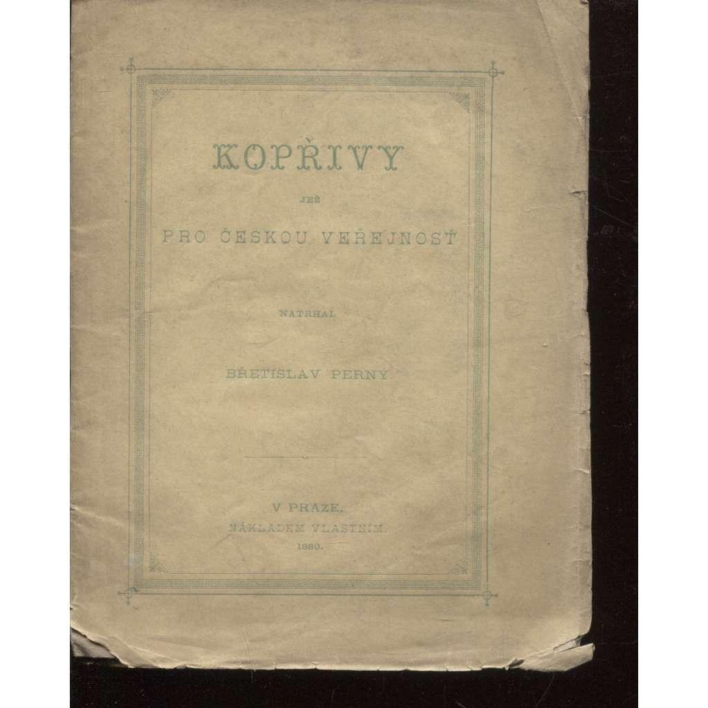 Kopřivy (poezie, 1880)