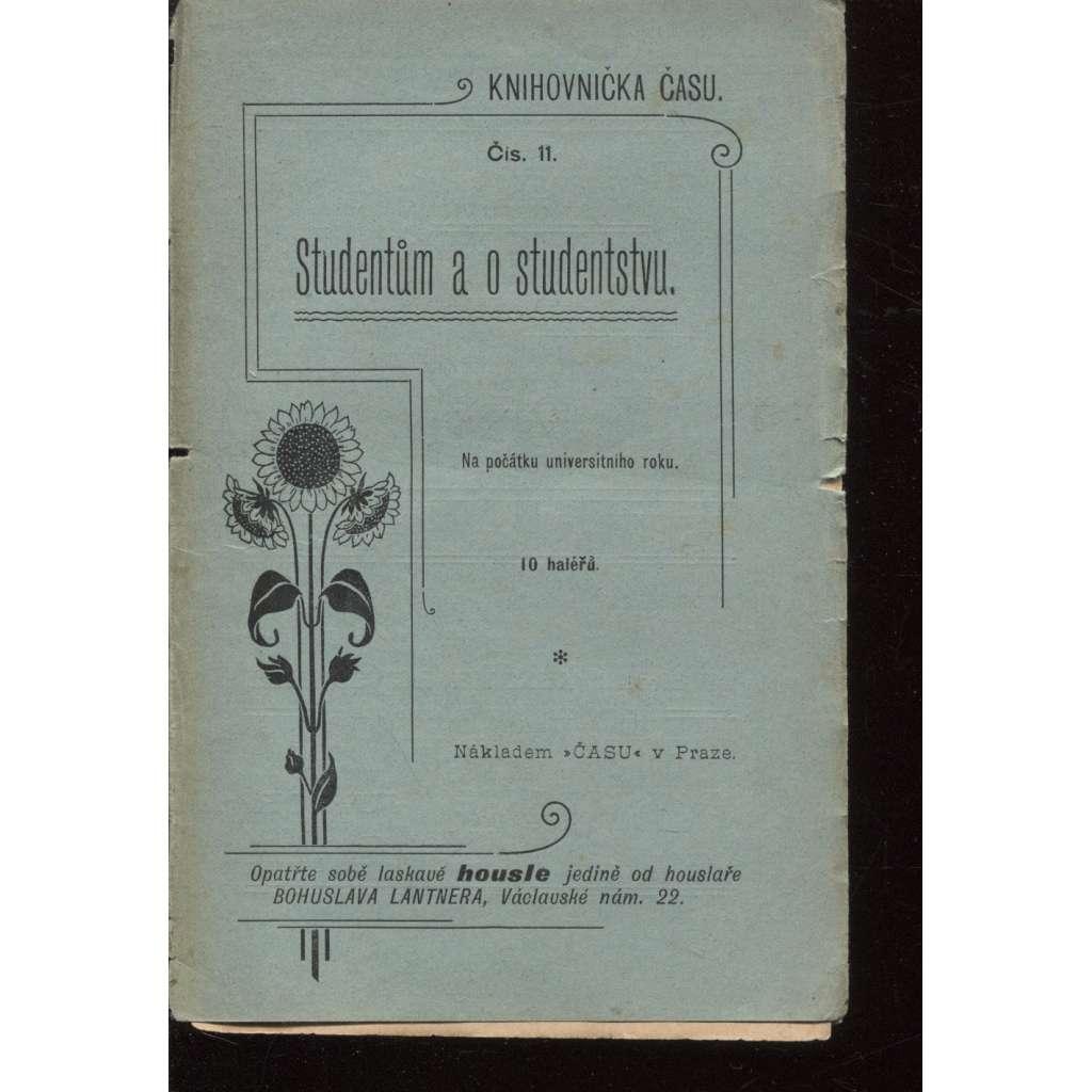 Studentům a o studentstvu (Knihovnička času)