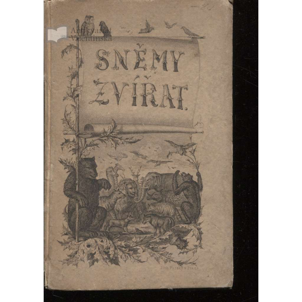 Sněmy zvířat. Bájka i kronika (1881)