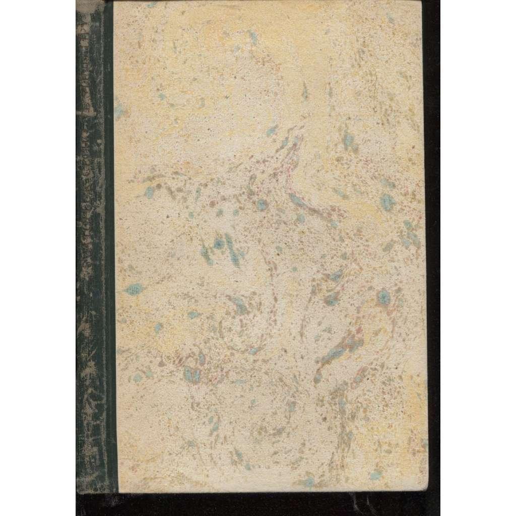 Ve stínu lípy (10 x grafika Cyril Bouda) 1940