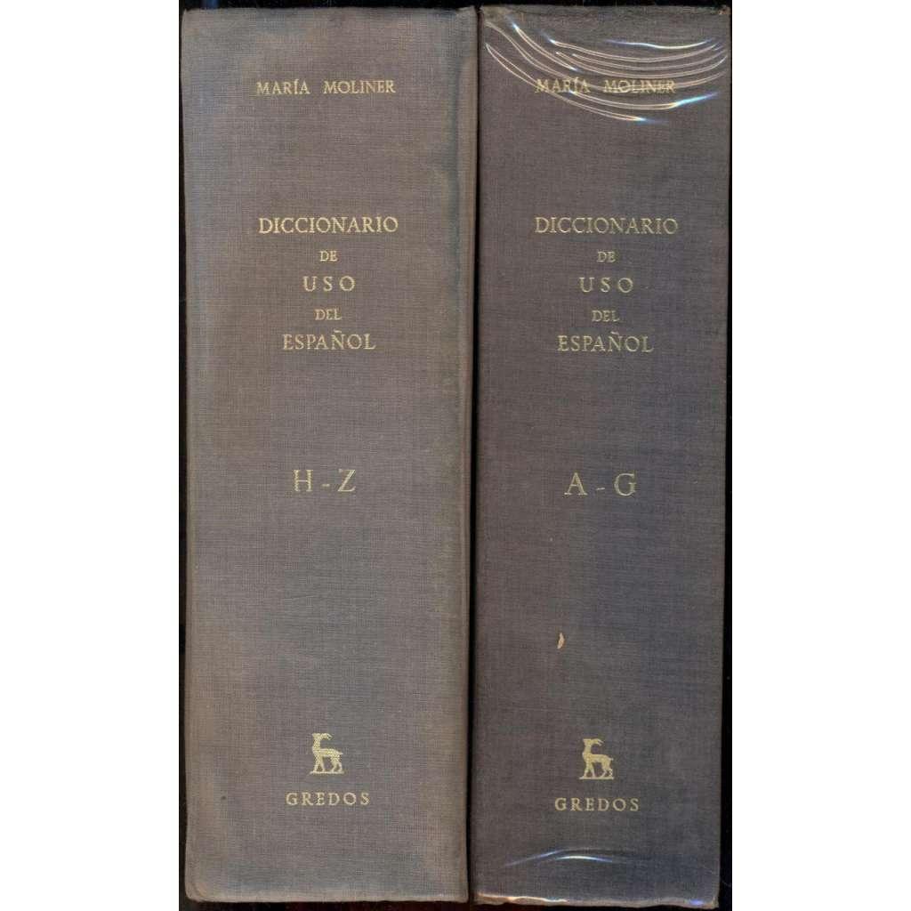 Diccionario de uso del Espanol [2 Bände:] A-G; H-Z [= Biblioteca románica hispánica, V]