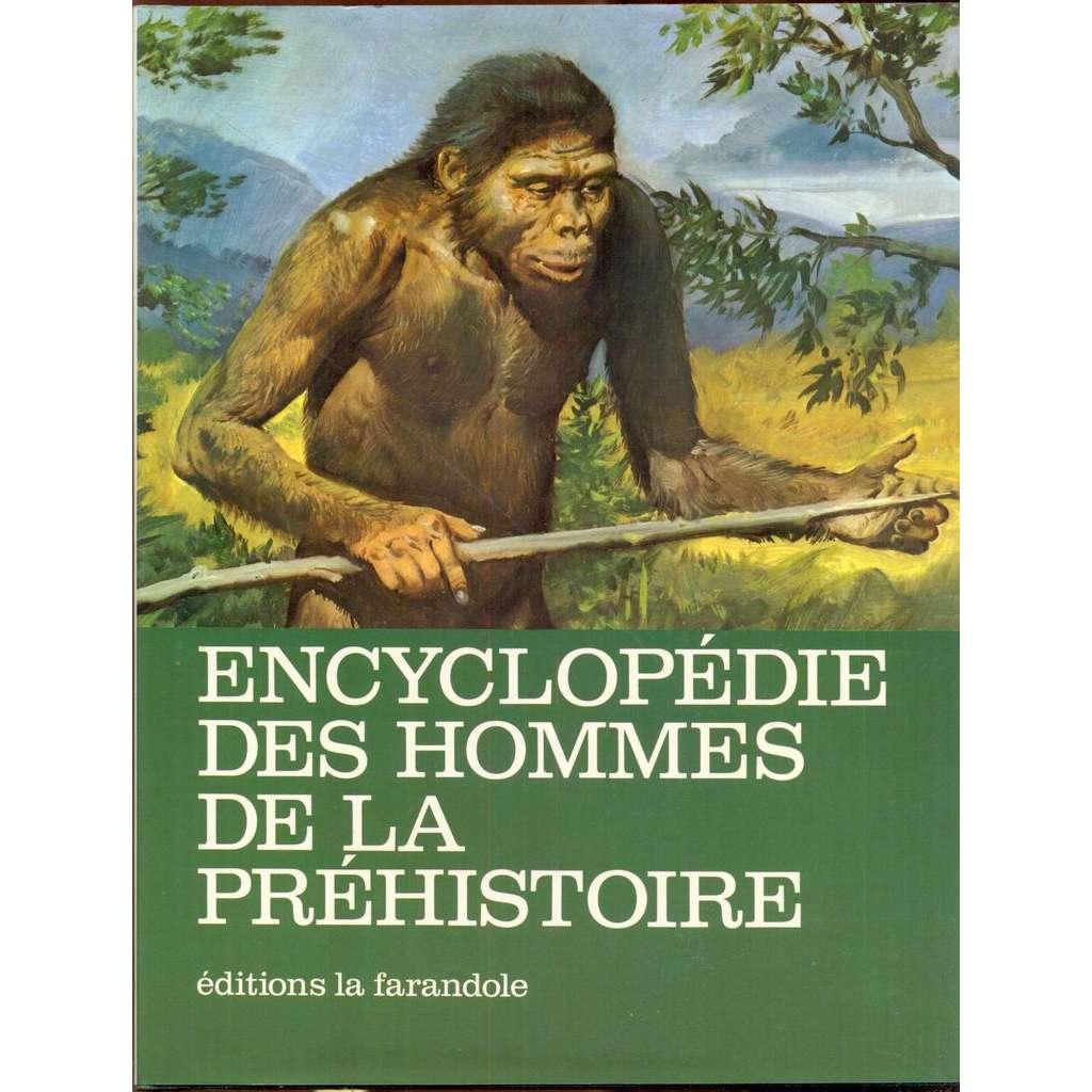 Encyclopédie des hommes de la préhistoire. Illustrations de Zdenek Burian. 6e édition