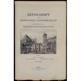 Zeitschrift des mährischen Landesmuseums. Herausgegeben von der mährischen Museumsgesellschaft, XIV Band