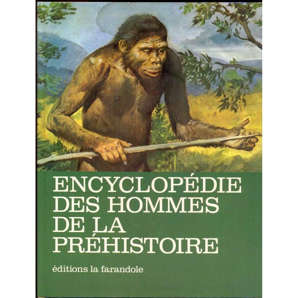 Encyclopédie des hommes de la préhistoire. Illustrations de Zdenek Burian. 3ème édition