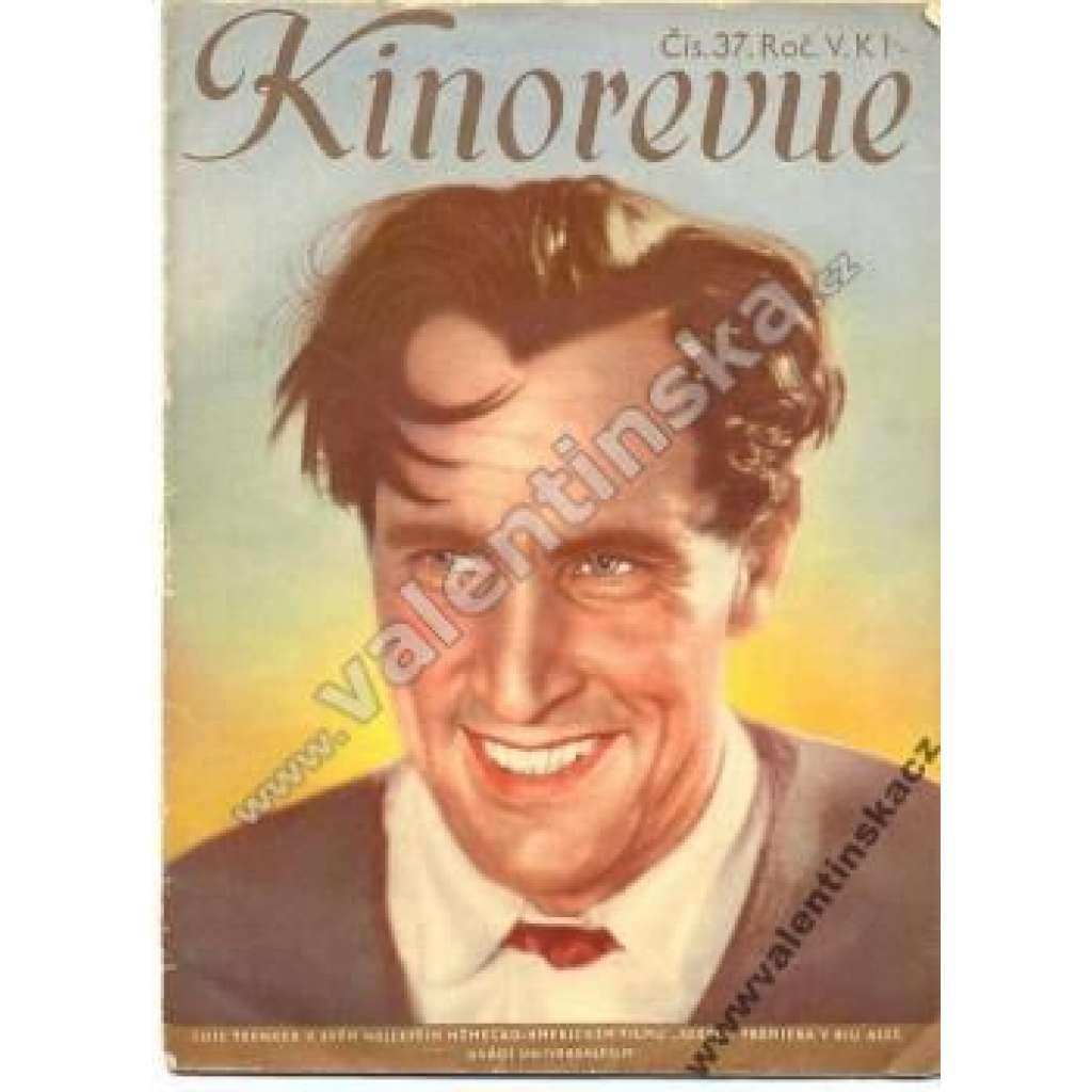 Kinorevue - ročník V., čís.: 37., 1939