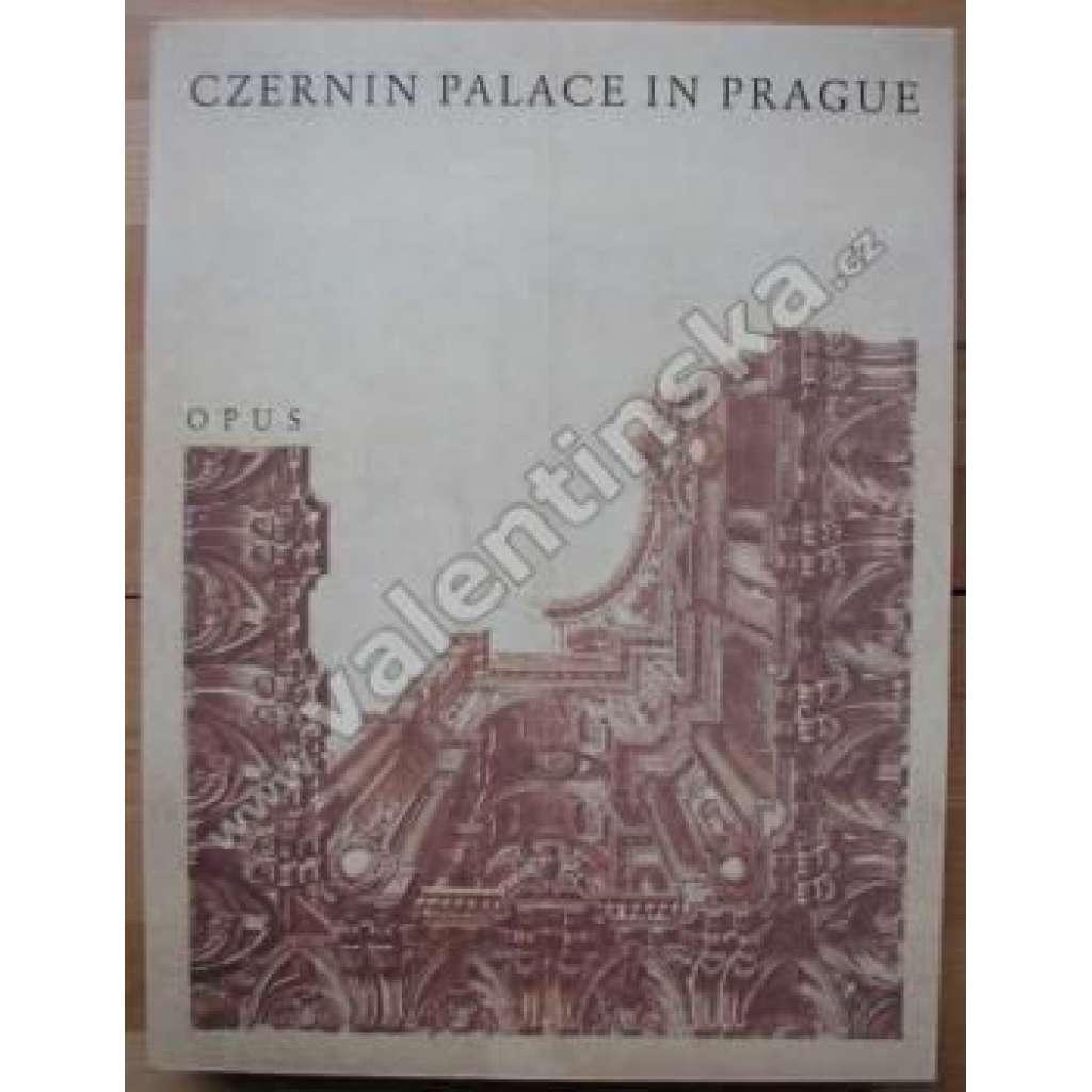 Czernin Palace in Prague Černínský palác angl.