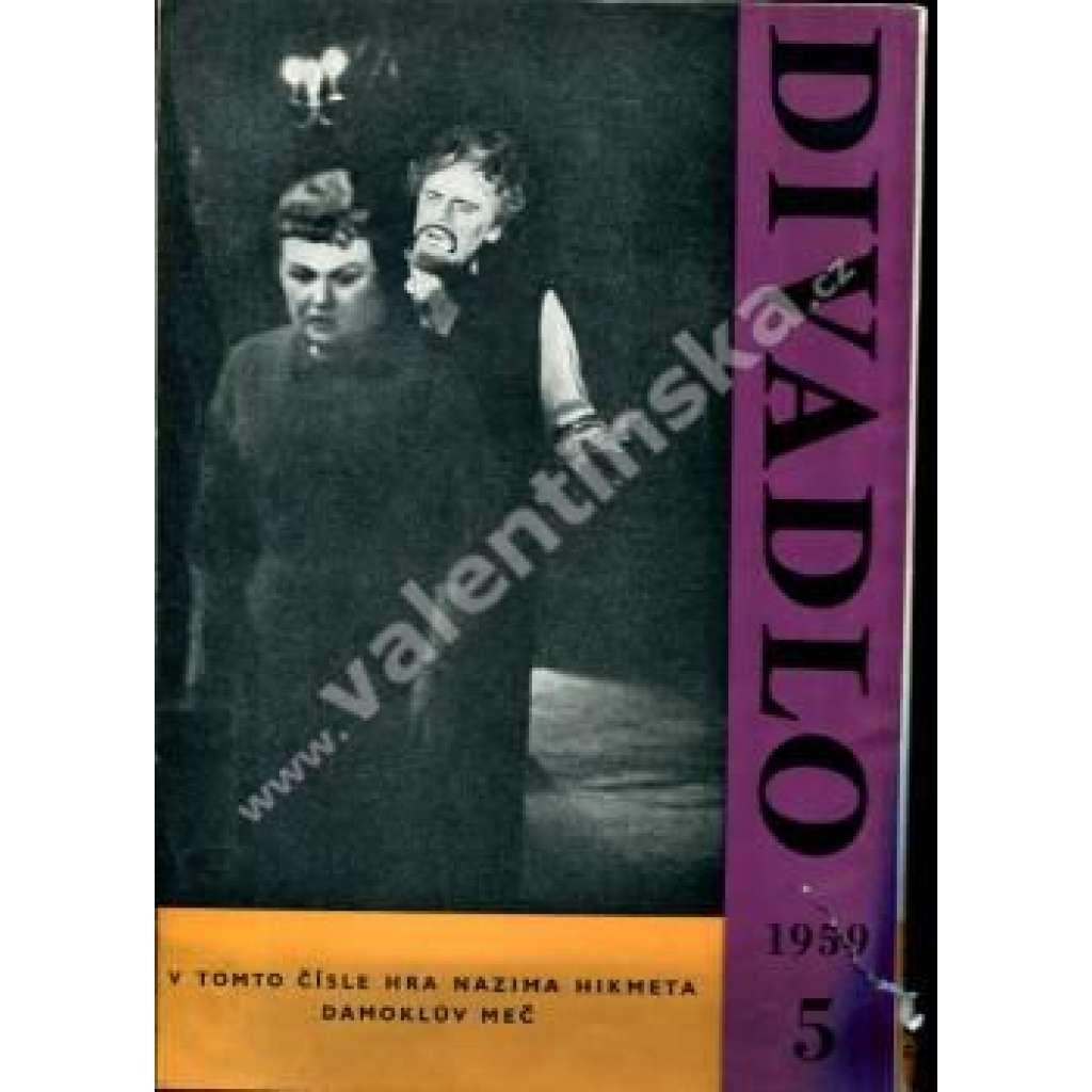 Divadlo - květen/1959