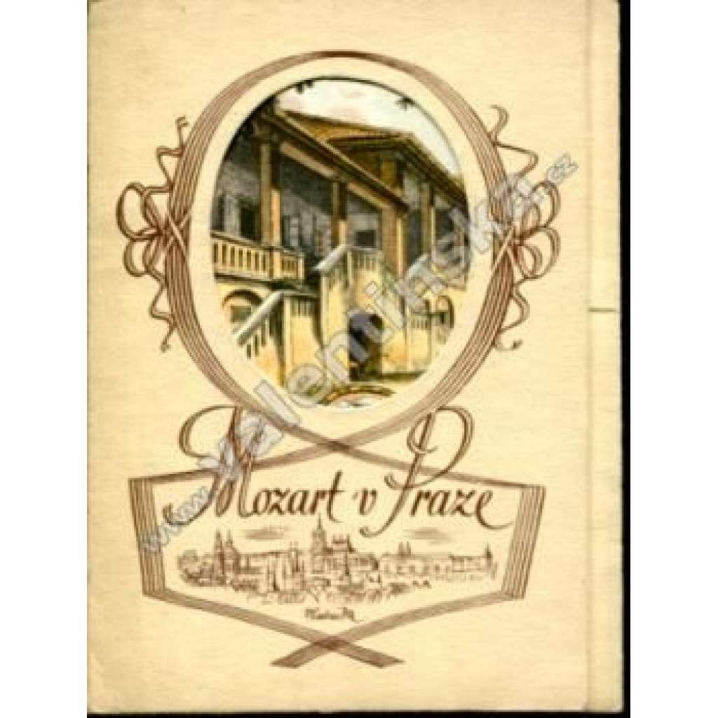 Mozart v Praze - soubor pohlednic