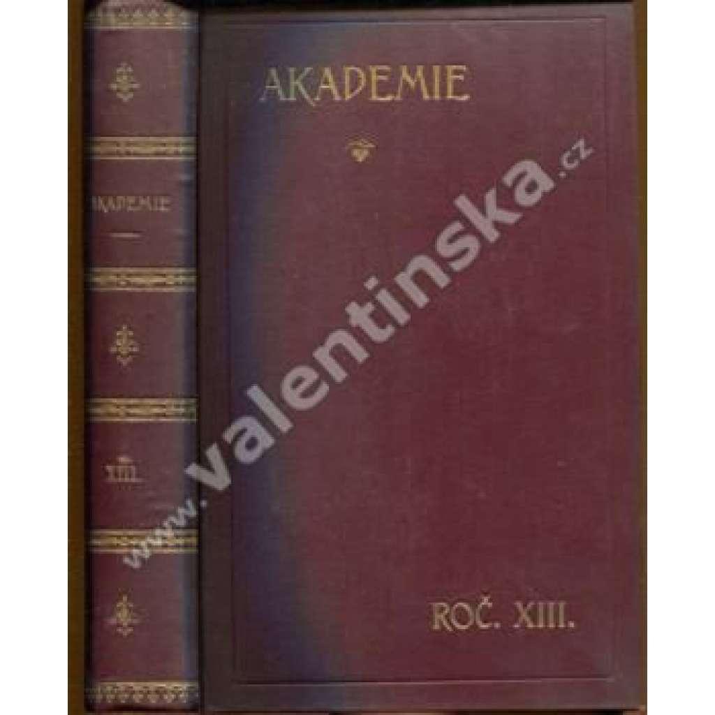 Socialistická revue Akademie, ročník XIII.