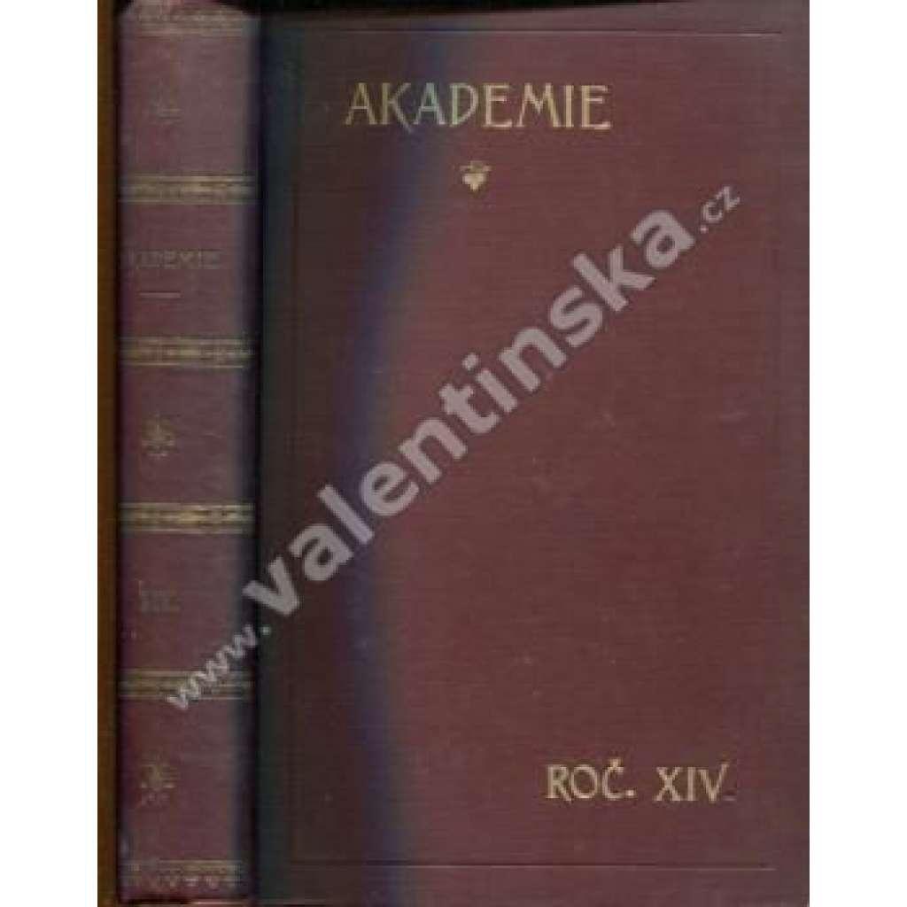 Socialistická revue Akademie, ročník XIV.