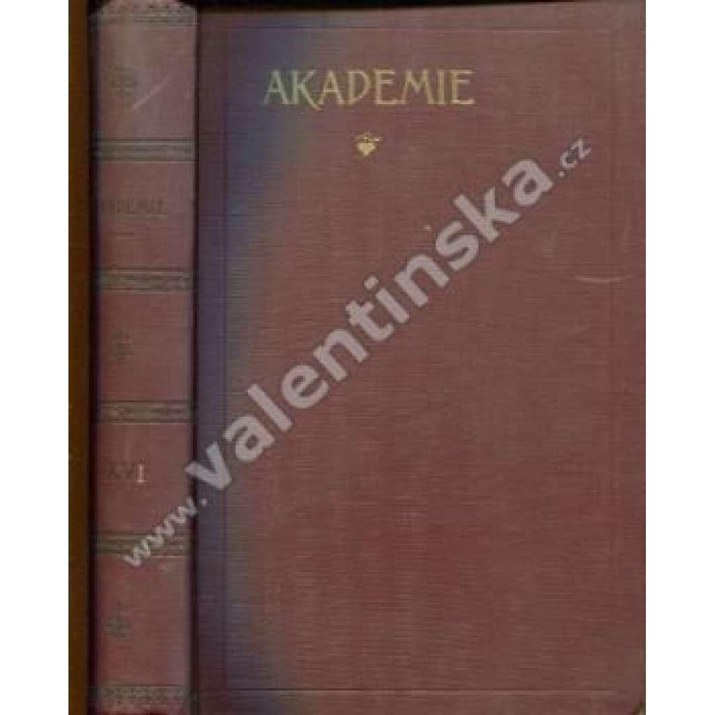 Socialistická revue Akademie, ročník XVI.