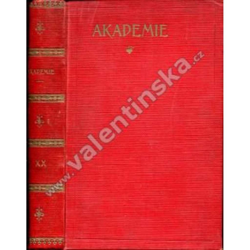 Socialistická revue Akademie, ročník XX.