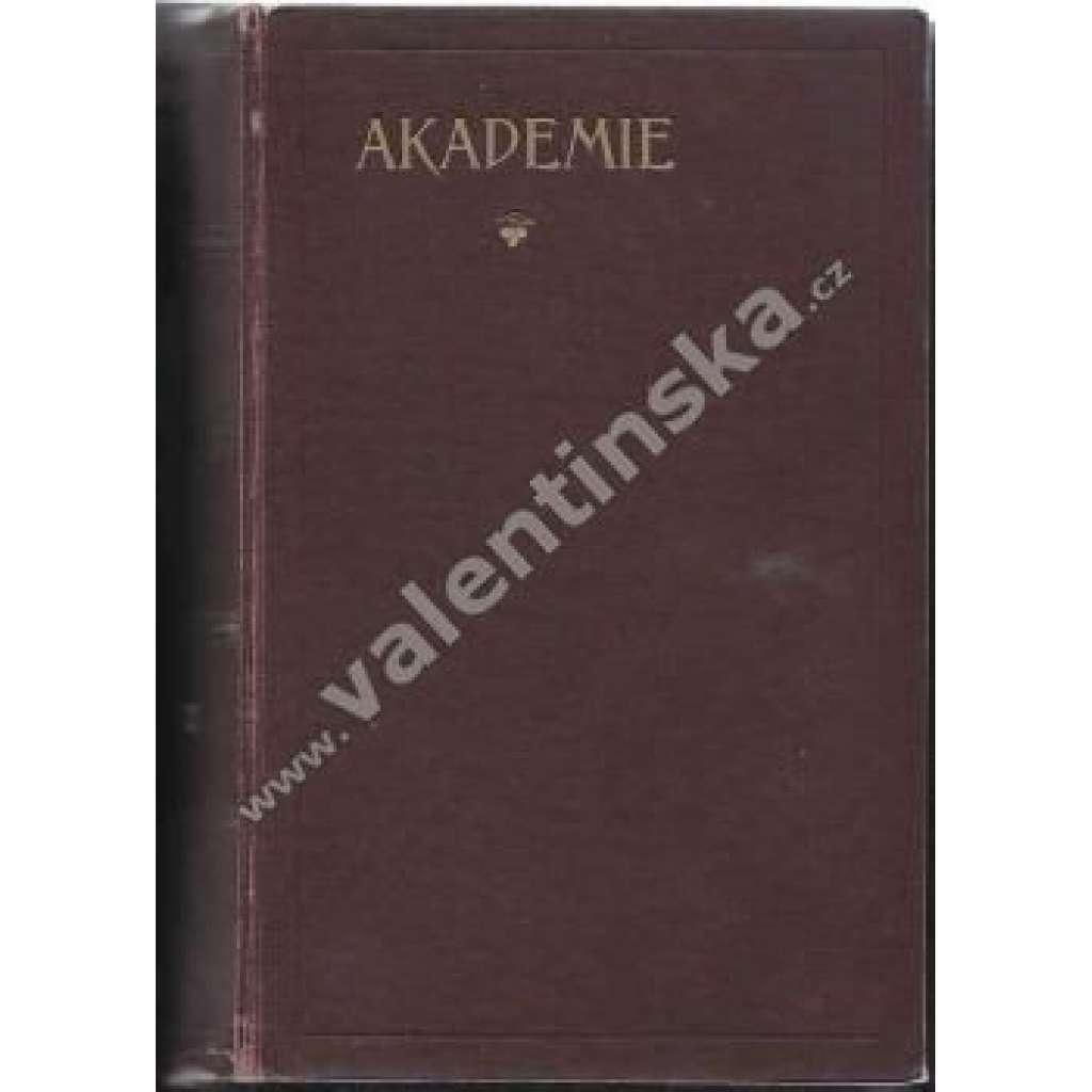 Socialistická revue Akademie. Ročník XVIII