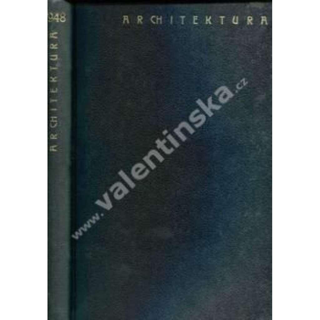 Architektura, ročník VII. (1948)