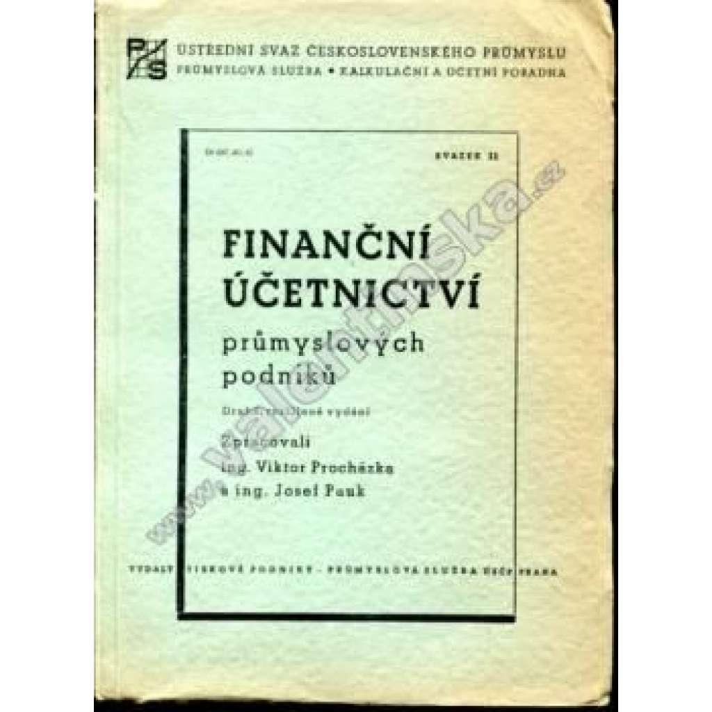 Finanční účetnictví průmyslových podniků