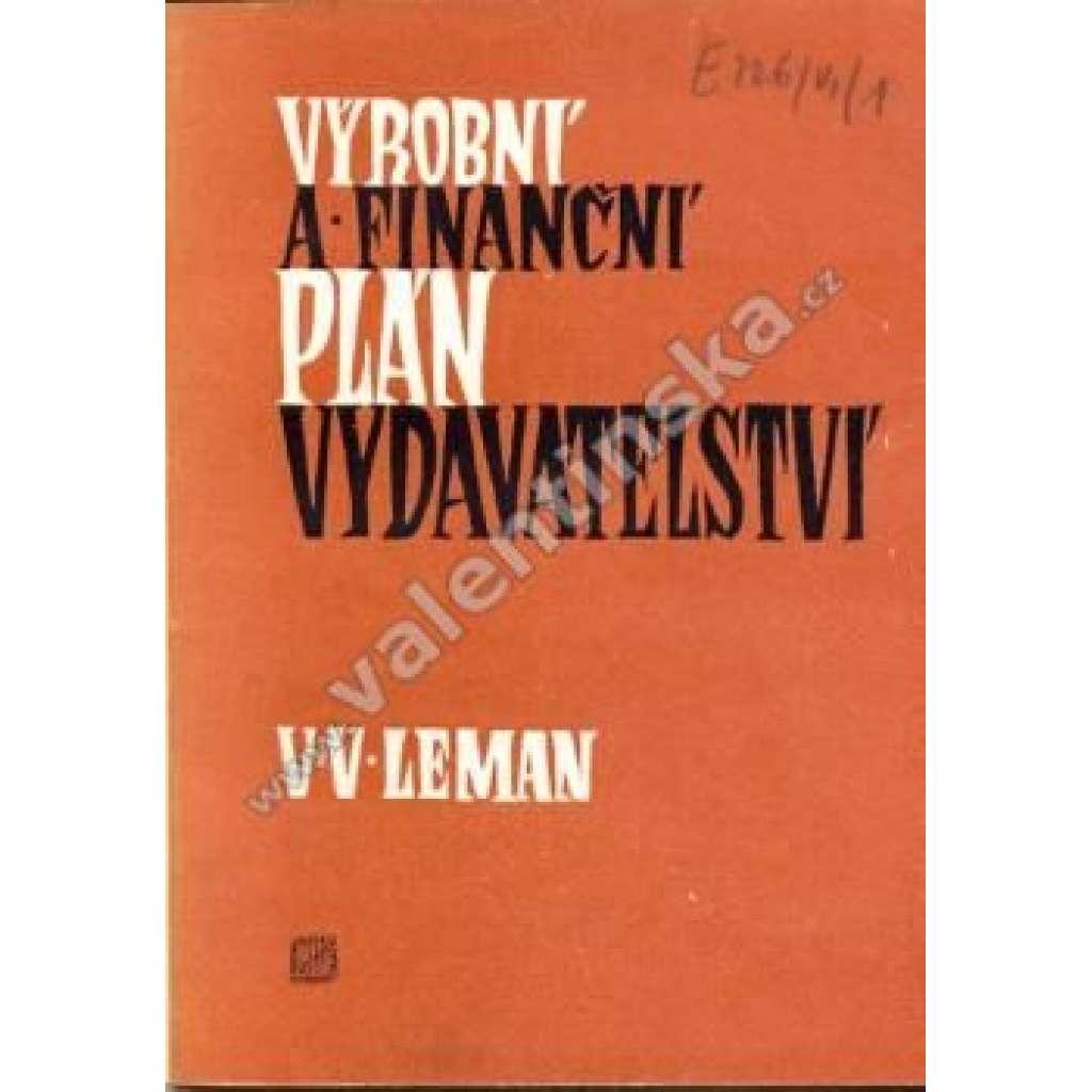 Výrobní a finanční plán vydavatelství